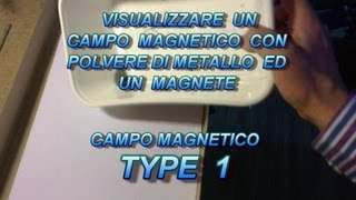 Visualize Magnetic Field Type 1 come visualizzare un Campo Magnetico invisibile