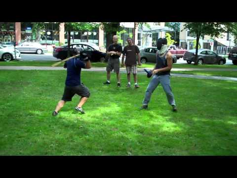 Full Contact Stick Fighting Image 1