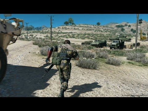 Metal Gear Solid 5 E3 2014 Gameplay 1080p HD