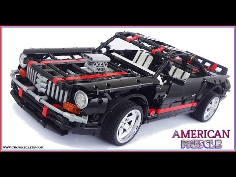 2014 Crowkillers Lego Technic Classic American Muscle Car