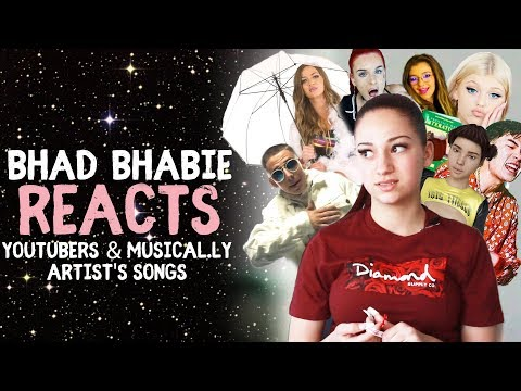 Danielle Bregoli is BHAD BHABIE reacts and roasts YouTuber and Muser music thumbnail