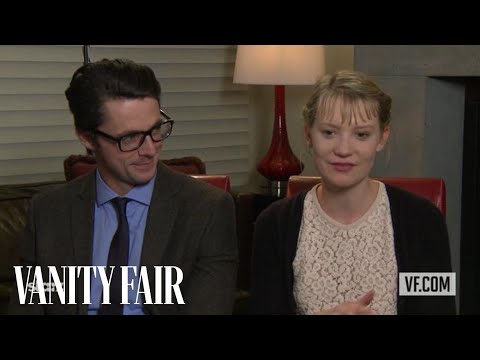 Mia Wasikowska and Matthew Goode Talk to Vanity Fair's Krista Smith About