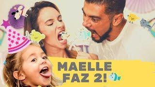 FESTA - 2 aninhos da Maelle com tema fofo! E ela manda mensagem subliminar | NAIUMI GOLDONI