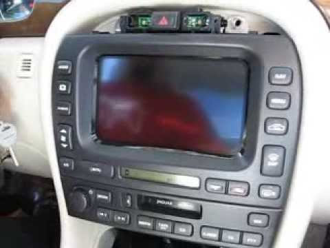 How To Remove Radio Display Navigation From Jaguar X