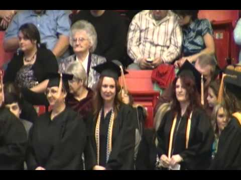 Cox College Graduation - BSN - December 14, 2012