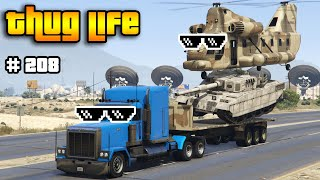 GTA 5 THUG LIFE AND FUNNY MOMENTS (Wins, Stunts and Fails #208)