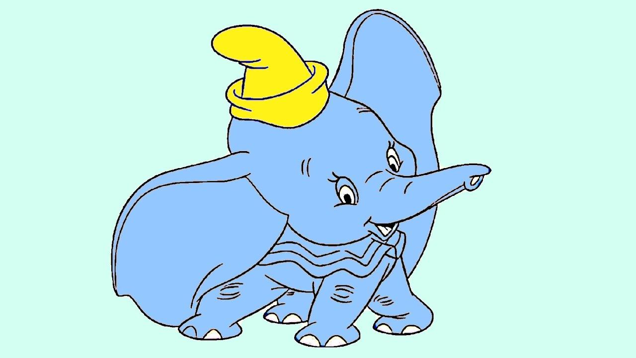 Dumbo Drawing Dumbo Drawing Draw Jumbo