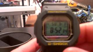 GW-M5600A-3 Green Casio G-Shock Watch Review - Atomic Solar Multiband 5
