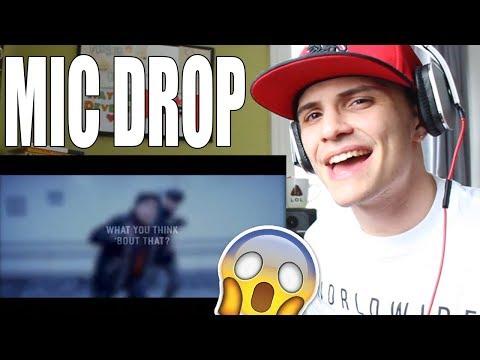 BTS (방탄소년단) - MIC Drop Ft. Desiigner (Steve Aoki Remix) REACTION
