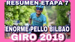 RESUMEN ETAPA 7 GIRO DE ITALIA 2019 🇮🇹