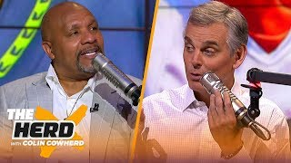 Hue Jackson joins Colin to talk about the new look Browns and other NFL topics | NFL | THE HERD