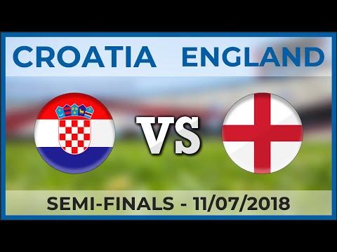 CROATIA - ENGLAND | Semi-finals - Football Teams Comparison | 11/07/2018 [FIFA] thumbnail