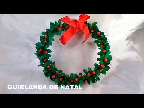 Guirlanda de Natal - Christmas wreath - Guirnalda de la Navidad