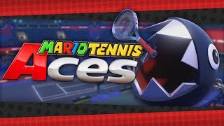 Chain Chomp Breaks Loose! Mario Tennis Aces Online Tournament Demo! (TheSilverSlasher)