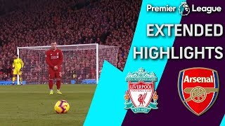 Liverpool v. Arsenal   PREMIER LEAGUE EXTENDED HIGHLIGHTS   12/29/18   NBC Sports