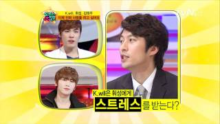 20110527 K.Will on 5000 Questions (with Wheesung and Kim Tae Woo) 2-3
