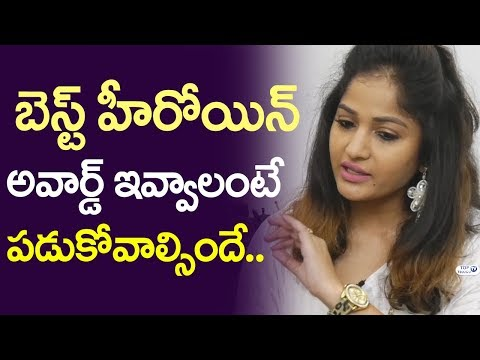 Madhavi Latha Shocking Comments on Movie Awards | Madhavi Latha Interview | Top Telugu TV