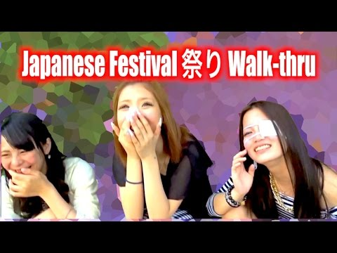 [HD] Japanese Festival Walk-Thru! (with Beautiful People & Good food)