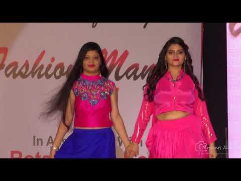 INIFD Kota Fashion Mantra 2018 | Design: Gunjan Sharma & Priya Agarwal  SS:Neha Sharma /Divya Jain