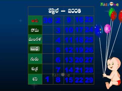 Ankelu || Telugu Nursery Rhymes video