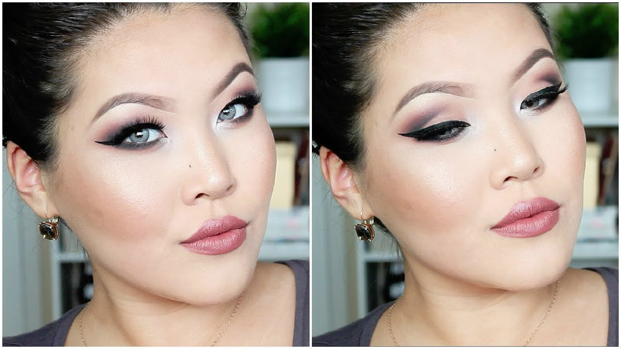 Makeup for hooded