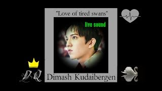 Dimash Kudaibergen. Love of tired swans (live sound)