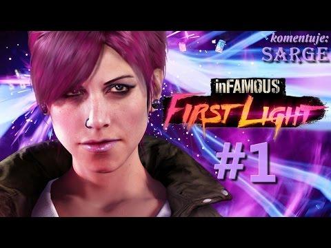 Zagrajmy w inFamous: First Light PS4 odc. 1 Poznajmy historię Fetch