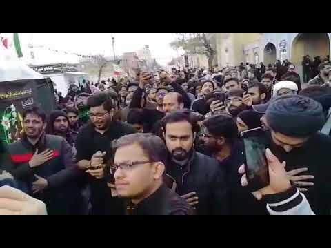 Mir Hasan Mir 2019 Qom Iran Ayyam e Fatima s.a