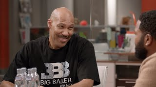 Dre Asks Lavar Ball for Advice - black-ish