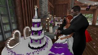Midnight & Angelise Second Life Wedding - 7.22.17