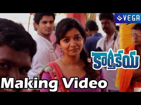 Karthikeya Movie Making Video - Nikhil Siddhartha, Swati Reddy - Latest Telugu Movie 2014 video