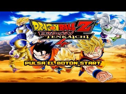 Dragon Ball Z Budokai Tenkaichi 4 (BETA 5)  Scenario. New Start Menu and New History (MOD PS2)