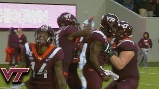 Virginia Tech's Quincy Patterson II Ties The Game With 53-YD Touchdown Run