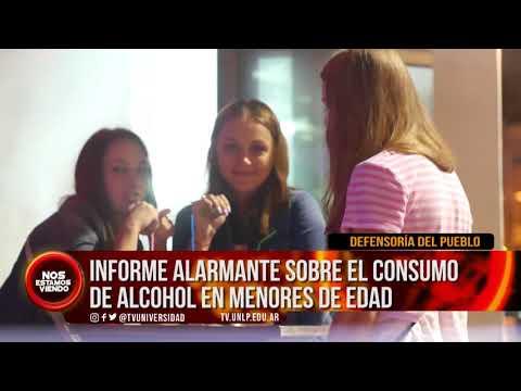 #NEV | INFORME ALARMANTE SOBRE EL CONSUMO DE ALCOHOL EN MENORES DE EDAD