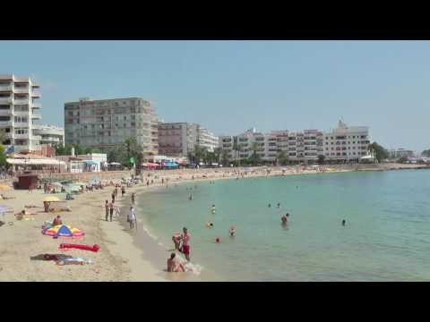 Santa Eulalia Beaches  IBIZA  in HD