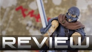 figma 187 Guts Band of the Hawk Version - Berserk Anime Figure Review ガッツ 鷹の団ver.