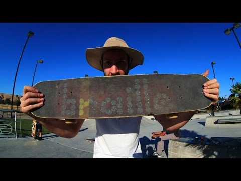 FOUR INCH WIDE SKATEBOARD?! | YOU MAKE IT WE SKATE IT EP 16