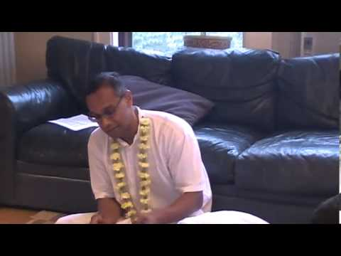 Hg Devakinandan Prabhu Visit To Minneapolis - Morning Class On Sb 1.8.27 At Ananta Prabhus Place video