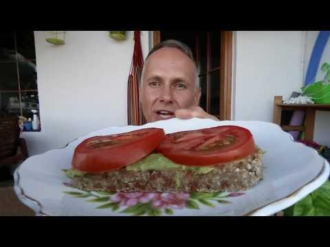Chleb Migdałowo-Owsiany Z Suszonymi Pomidorami  #45