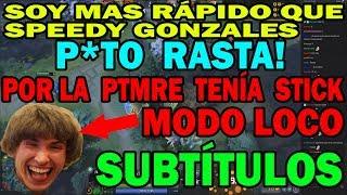 DENDI MODO LOCO JUGANDO RUBICK MID SUBTITULADO   DOTA 2 COSAS