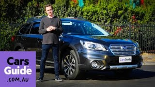 2016 Subaru Outback 3.6R review | Top 5 reasons to buy video
