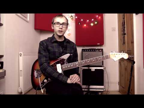 Shadowplay by Joy Division   Guitar Lesson