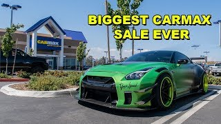 I TOOK $500,000 GTR TO CARMAX FOR AN APPRAISAL! (they offered me...)
