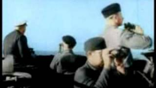 1942 Nazi U-Boats Rule the Seas! Color Footage