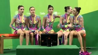 Rio de Janeiro - Test Event - Concorso Generale a Squadre Ritmica