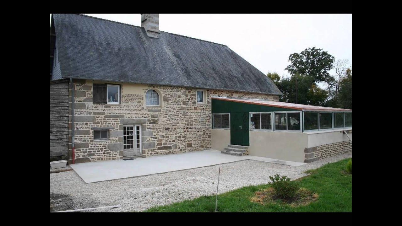 Belle maison en pierre youtube - Maison en pierre apparente ...