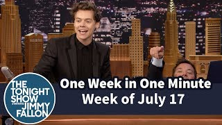 One Week in One Minute: Week of July 17