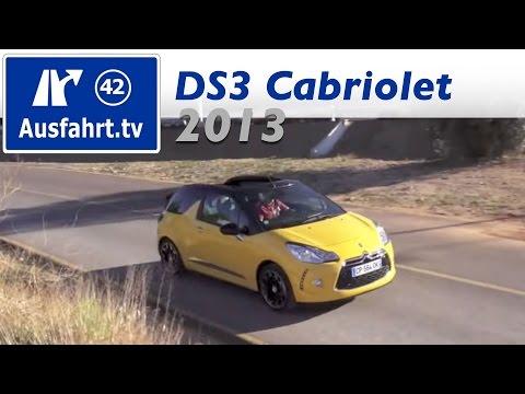 2013 Citroen DS3 Cabrio - Probefahrt und erster Test