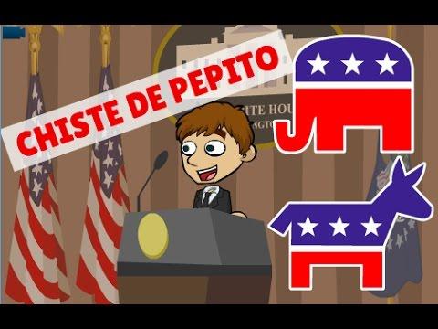 Chiste de Pepito - Elecciones Estados Unidos
