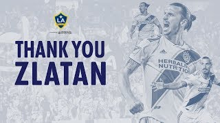 Thank you,  Zlatan: Every one of Zlatan Ibrahimovic's goals with the LA Galaxy